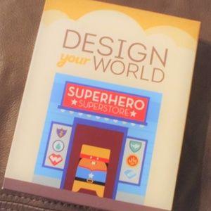 Design Your World Superhero Kids art kit boys girl